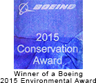 Boeing Conservation award