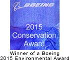 Boeing Conservation award
